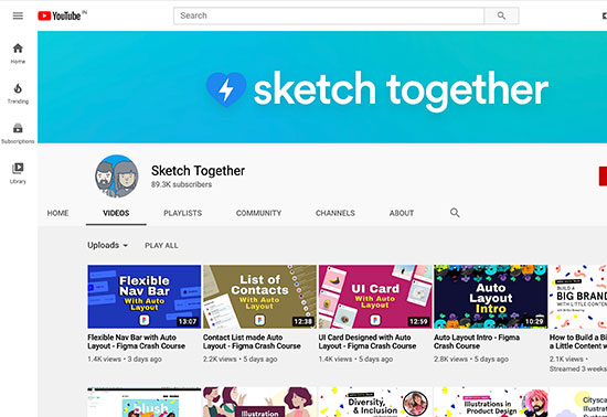 Sketch Together YouTube Channel