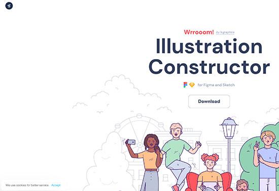 Wrrooom Illustration Constructor, LS Graphics