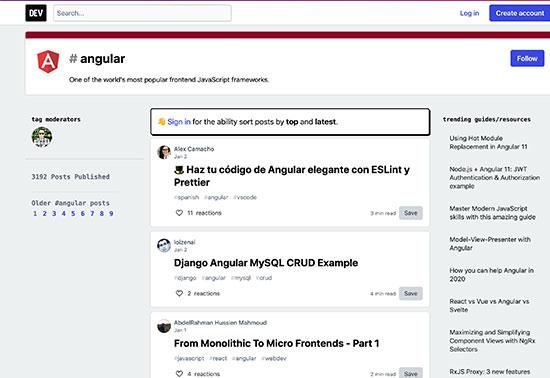 Angular - DEV Community