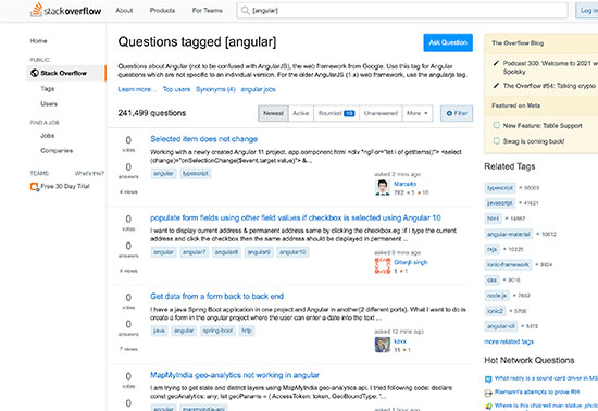 Angular Questions - Stack Overflow