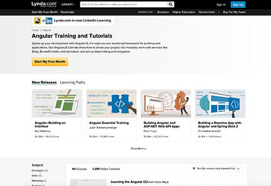 Angular Training and Tutorials - Lynda.com