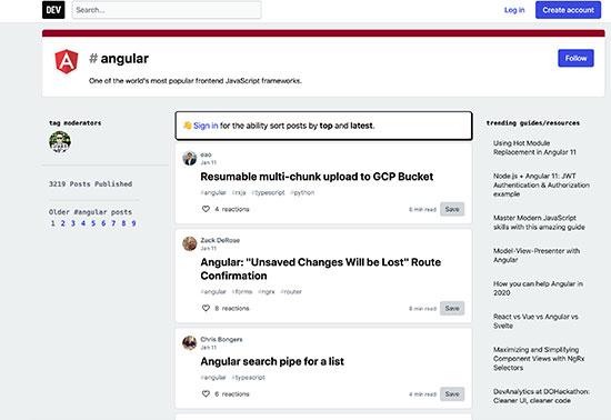 Angular Tutorial, DEV Community