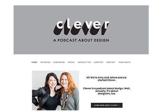 Clever Podcast, Clever Design Podcast