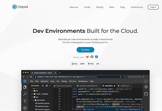 Gitpod, Dev environments built for the cloud