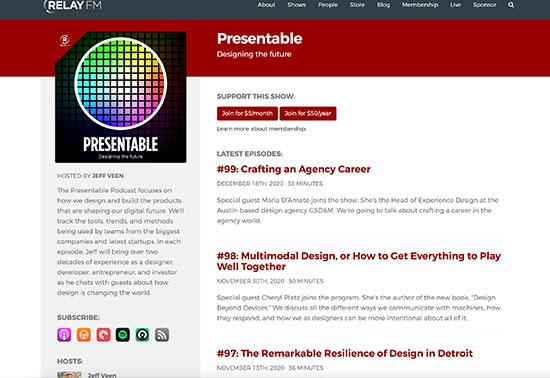 Presentable - Relay FM