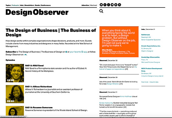 The Design of Business - Design Observer