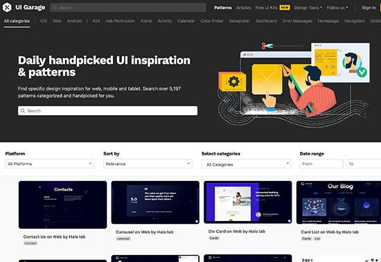 UI Garage - Design Patterns