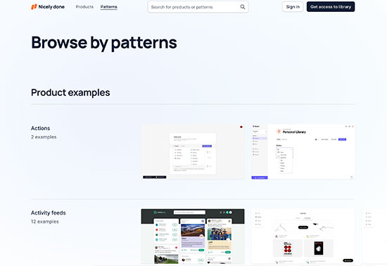 UX/UI patterns & user flows inspiration, Nicely done