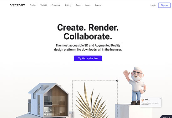 Vectary, The Easiest Online 3D Design and 3D Modeling